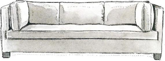 Sofa Style Guide - Tuxedo Sofas