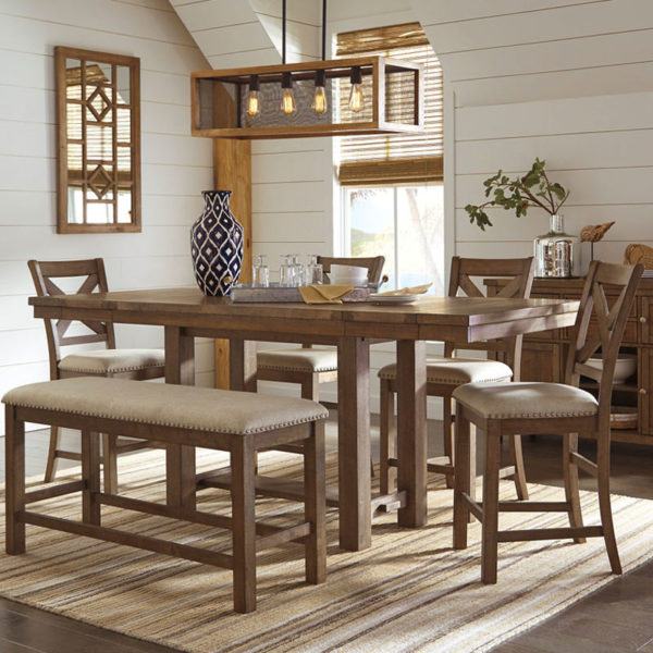 Ashley Furniture Moriville Dining Room Collection 1 Sofas & More