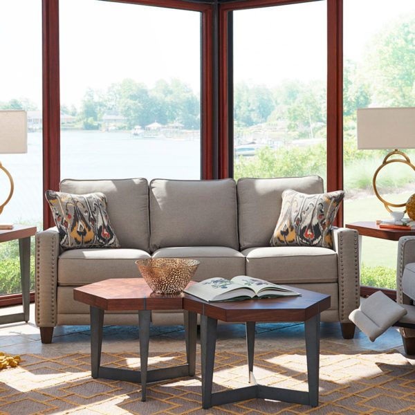 LaZBoy Furniture Makenna Duo Living Room Collection 3 Sofas & More