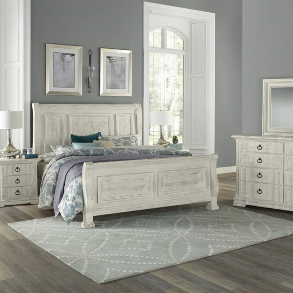 Vaughan-Bassett Rustic Hills Bedroom Collection 3 Sofas & More