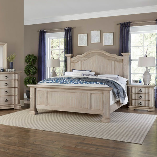 Vaughan-Bassett Rustic Hills Bedroom Collection 4 Sofas & More