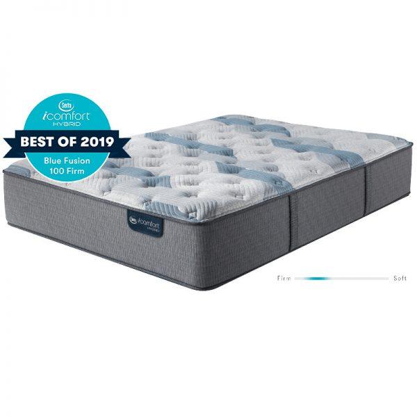 Serta iComfort Blue Blue Fusion 100 Mattress 1 Sofas & More