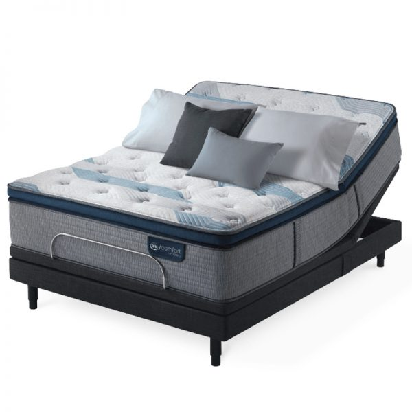 Serta iComfort Blue Blue Fusion 300 Mattress 4 Sofas & More
