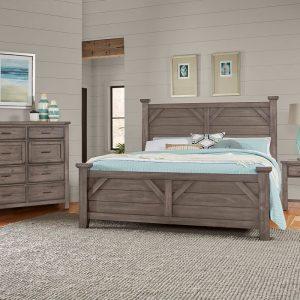 Vaughan-Bassett Furniture Chestnut Creek Bedroom 2 Sofas & More
