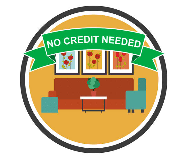 no credit furniture financing