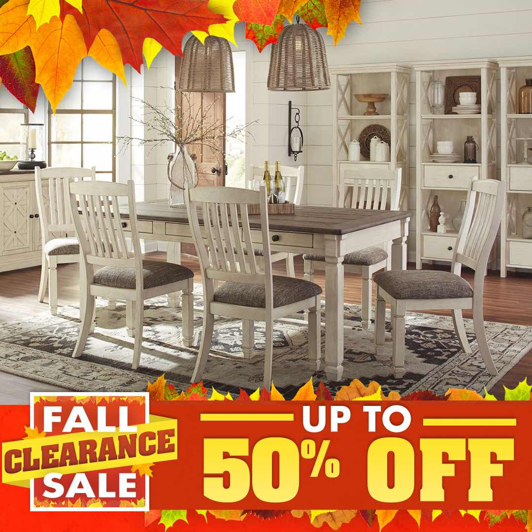 Fall Clearance Sale Ashley Bolanburg