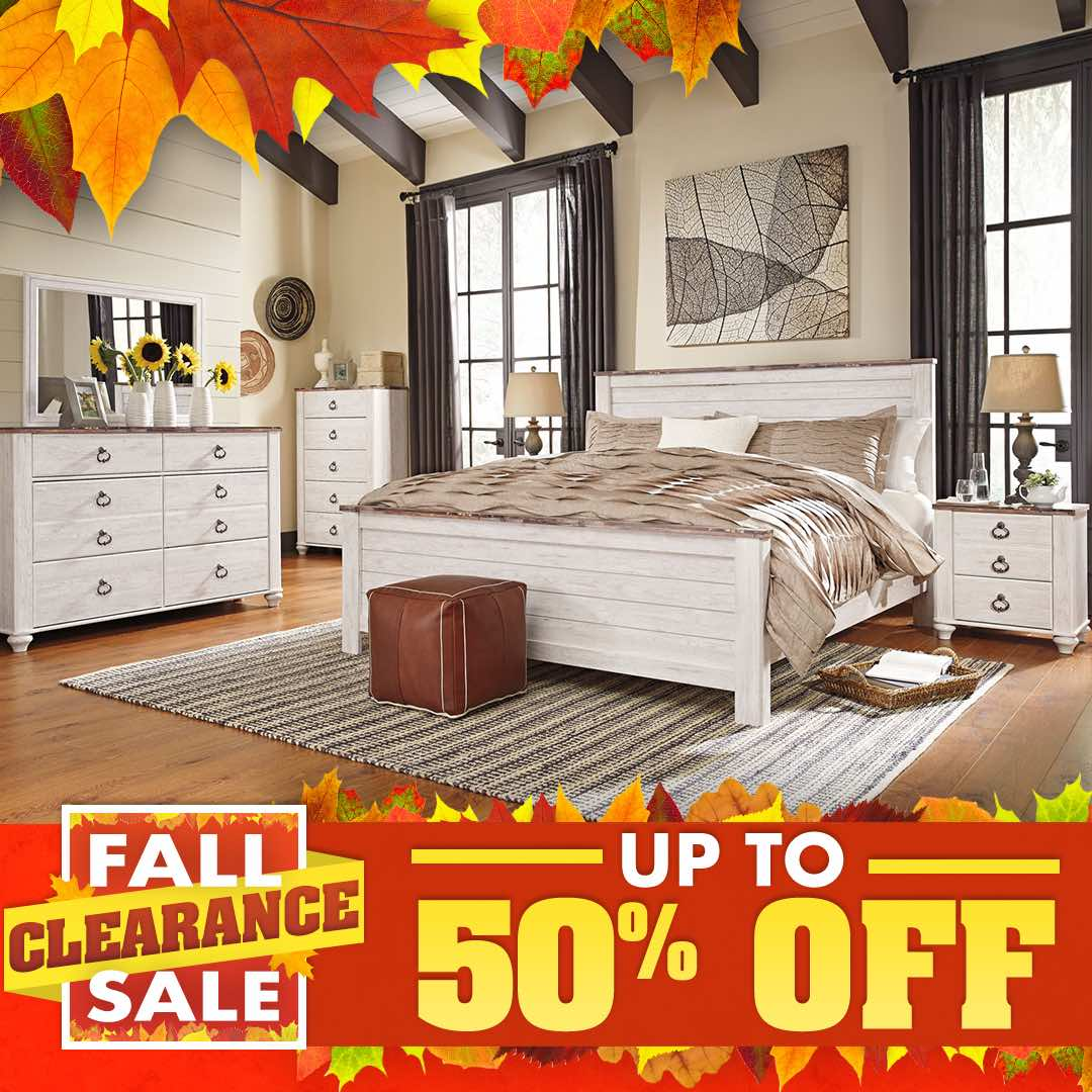 Fall Clearance Sale Ashley Willowton