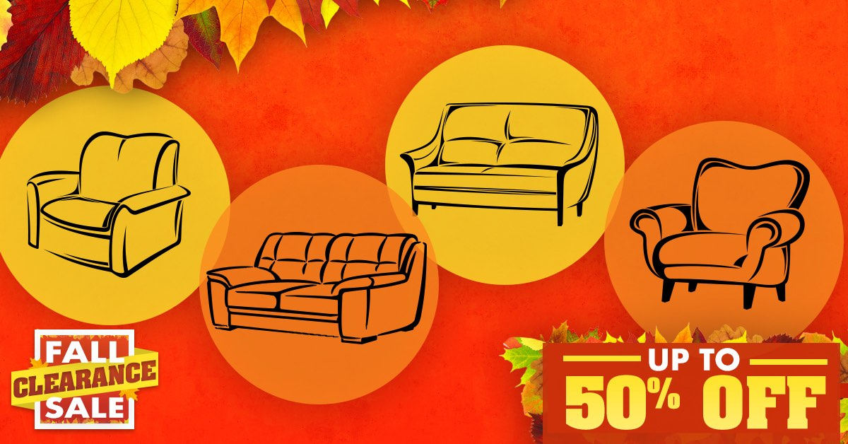 Fall Clearance Sale Sofas & More