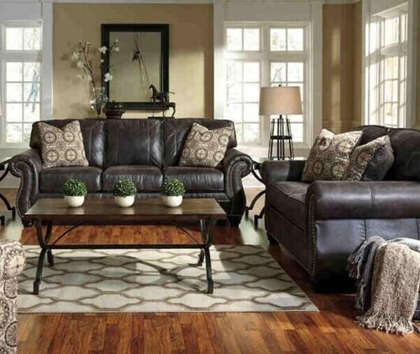 Holiday-Ready with the Ashley Breville Living Room Set - Featured Image 1