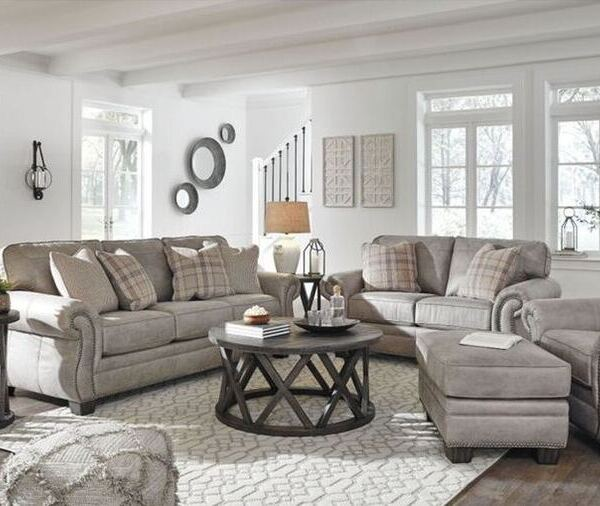 Ashley Olsberg Living Room Set - featured 1