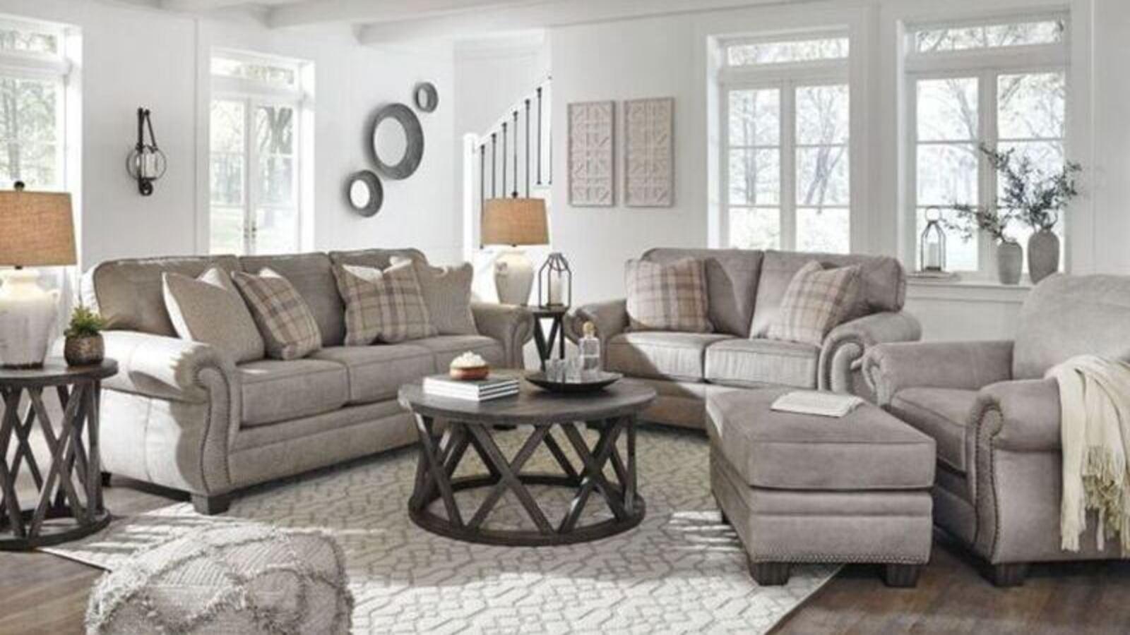 Ashley Olsberg Living Room Set - featured 2