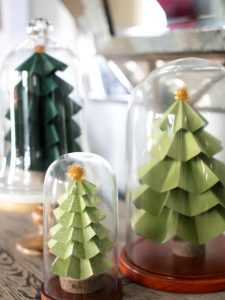 25 Fun Christmas Decor Ideas - Mini Forest
