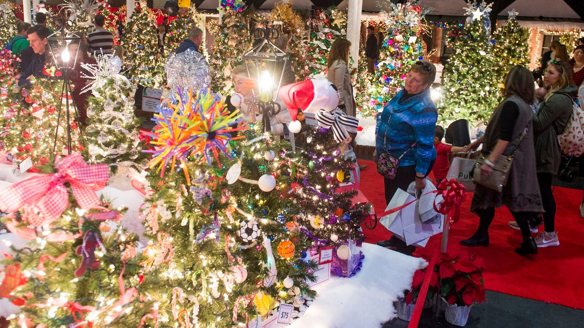 Knoxville Christmas Events 2019 - Fantasy of Trees