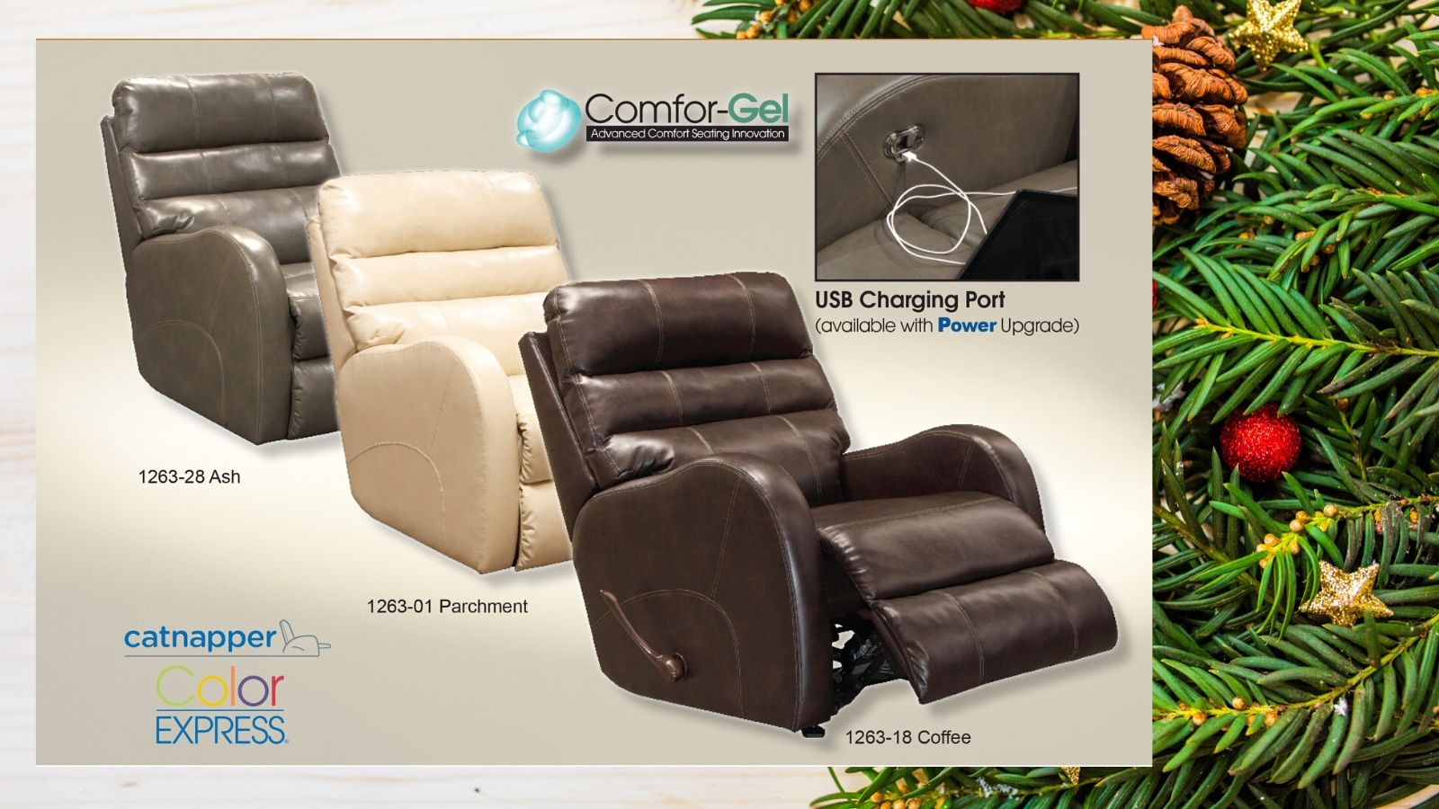 Catnapper Searcy Rocker Recliner - Featured Image 2