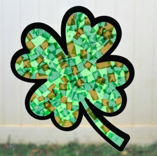 St. Patrick's Day - sun-catcher