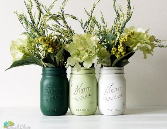 St. Patrick's Day - Jars