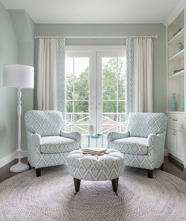 Master Bedroom Decorating - Sitting Area