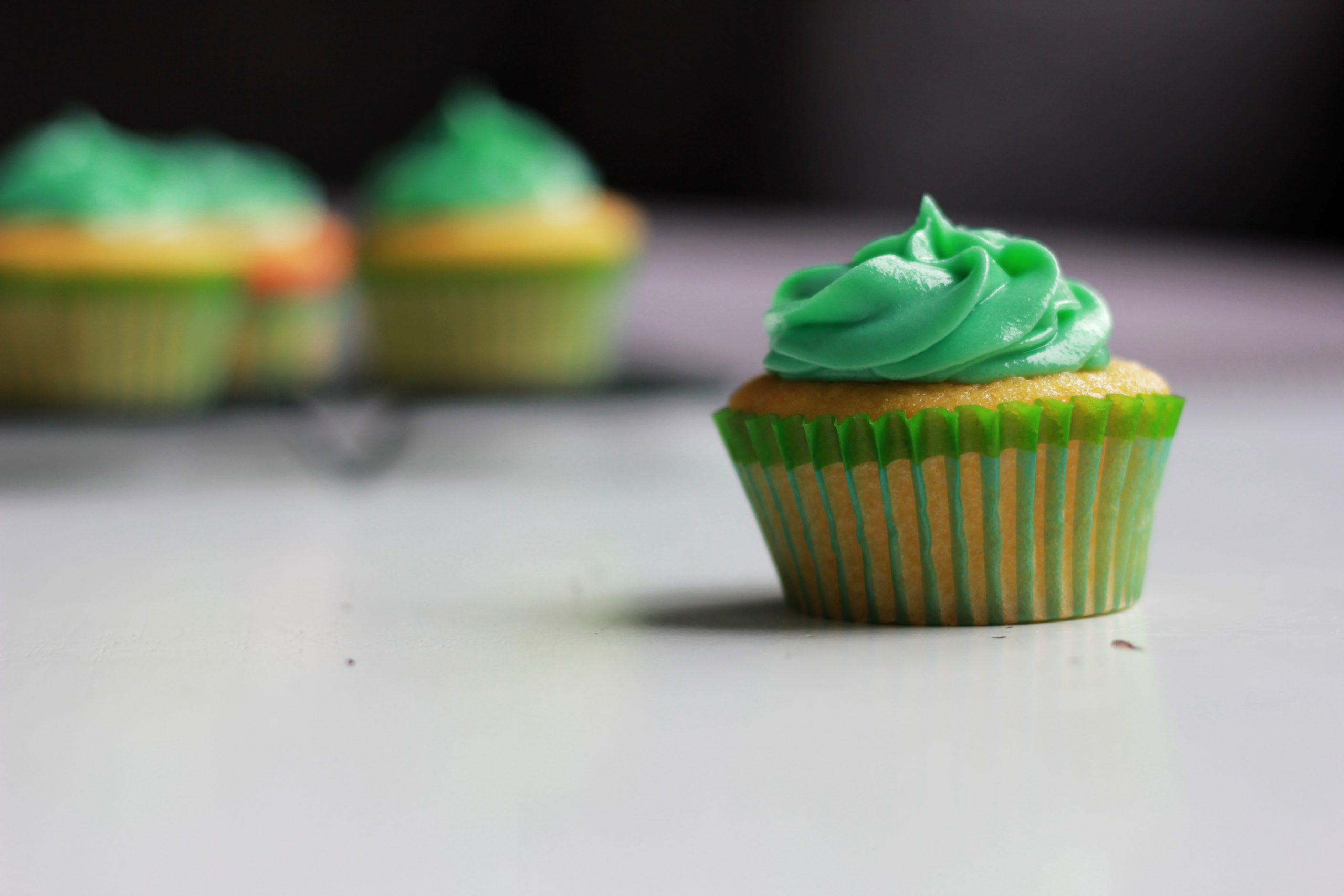 St. Patrick's Day - cupcakes