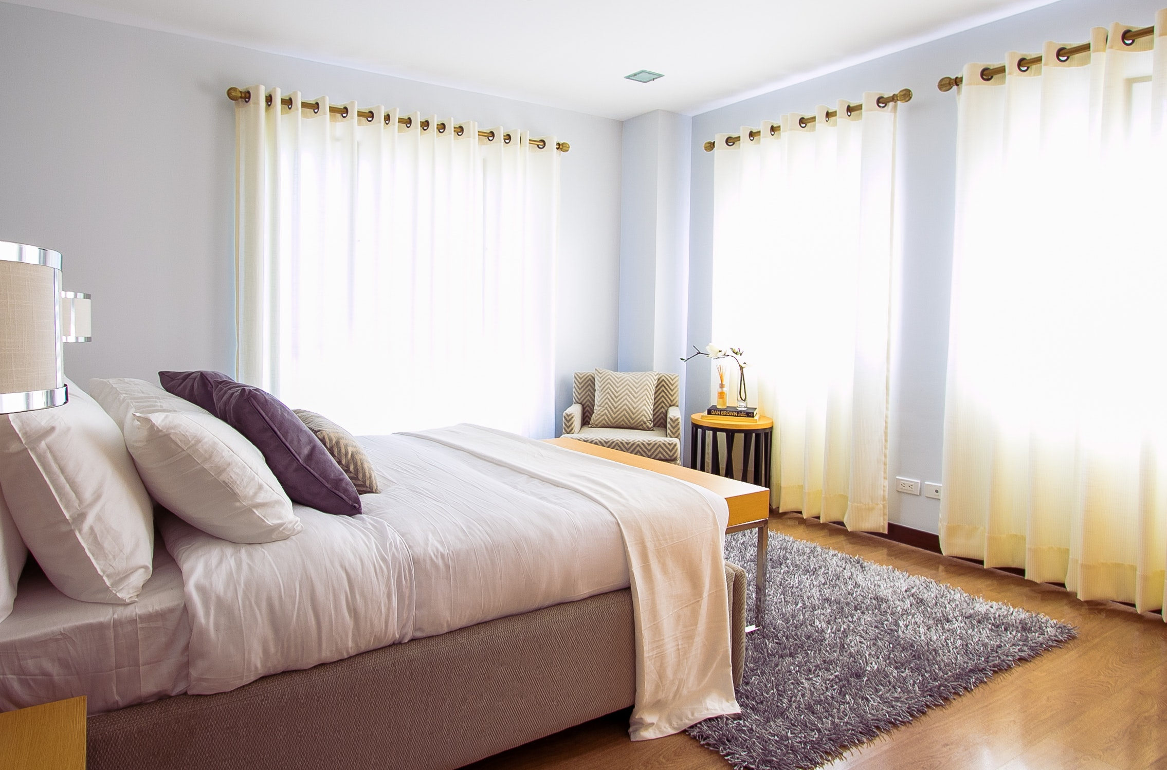 Master Bedroom Decorating - Curtains