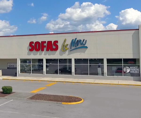 Sofas & More Reopening