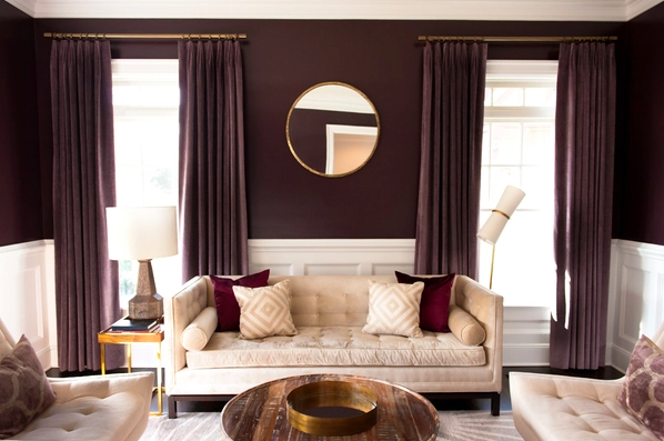 Redecorate With What You Have - curtains