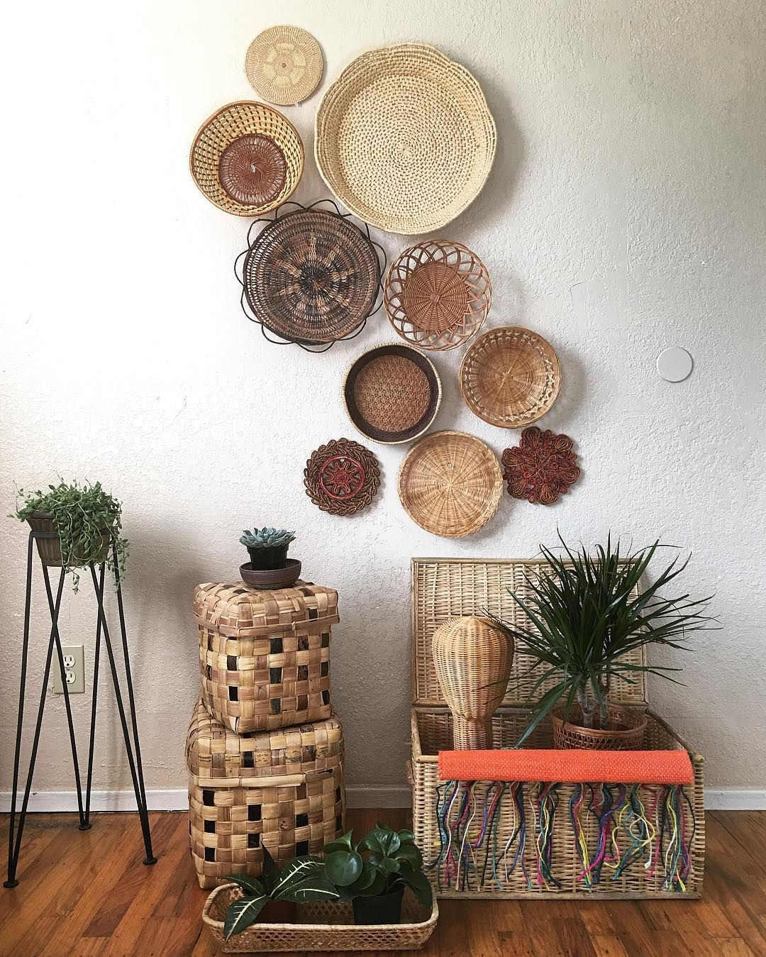 Redecorate With What You Have - baskets