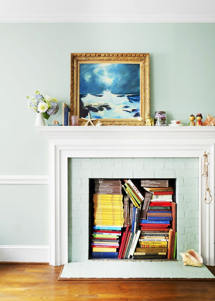 Redecorate With What You Have - fireplace