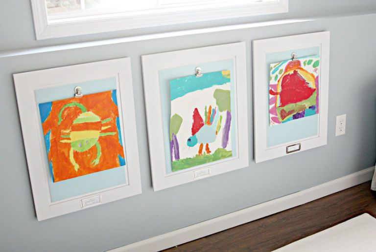 Redecorate With What You Have - kid art