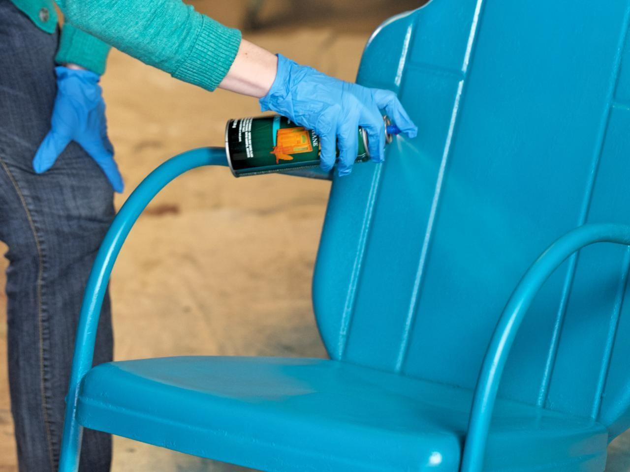 Redecorate With What You Have - spray paint