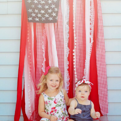 13 Easy Tips for a Star-Spangled Fourth of July Party - backdrop