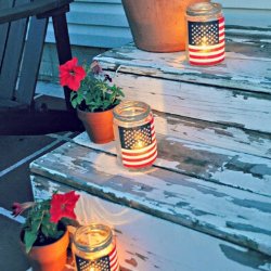 13 Easy Tips for a Star-Spangled Fourth of July Party - luminaries