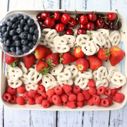 13 Easy Tips for a Star-Spangled Fourth of July Party - fruit