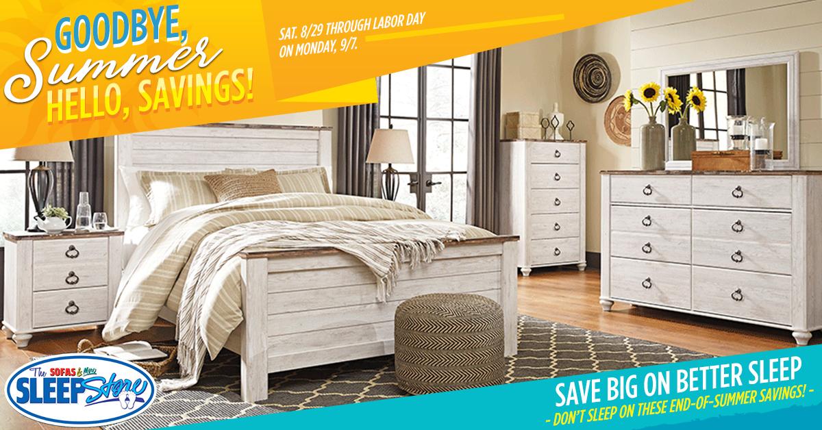 Sofas & More Labor Day Furniture Sale - closer 2