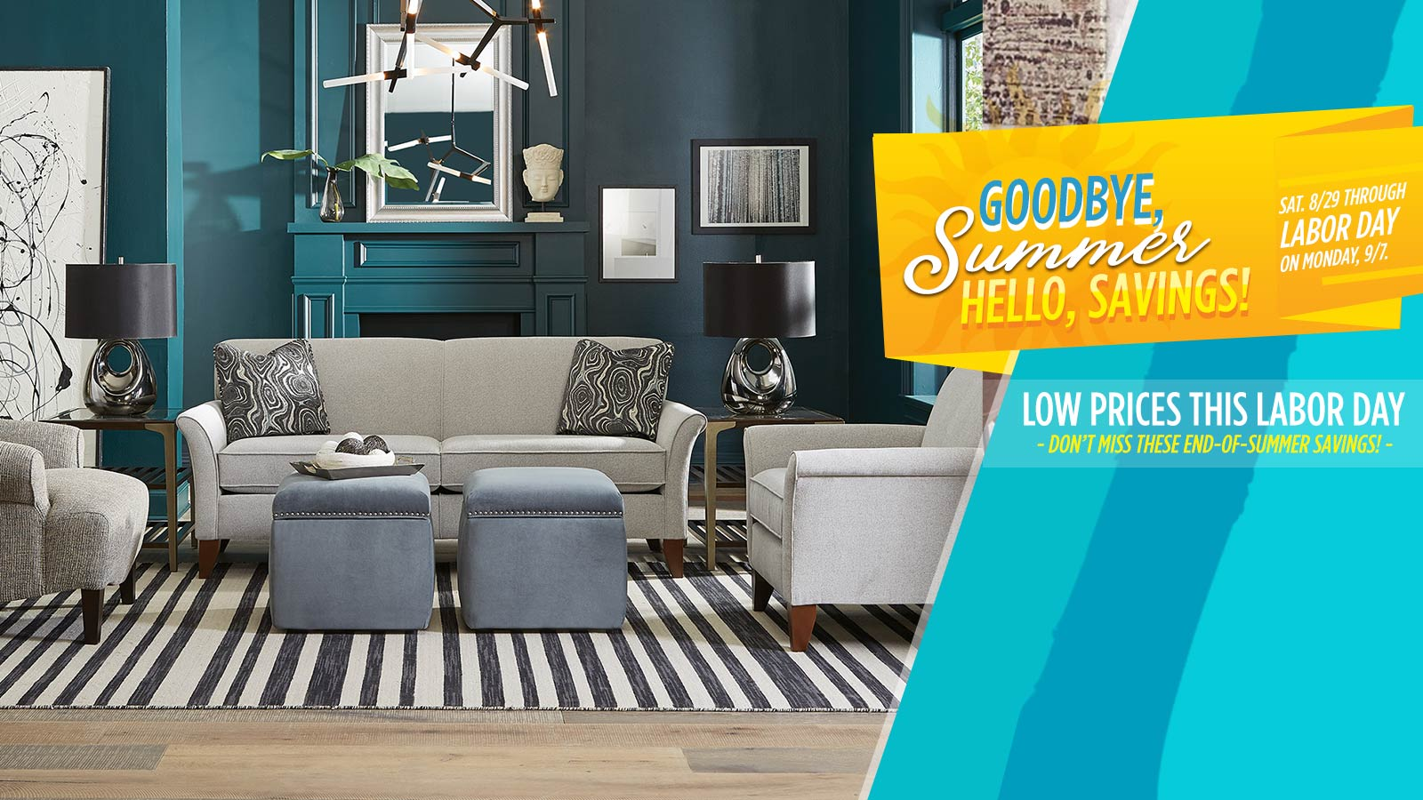 Sofas & More Labor Day Furniture Sale - featured 1