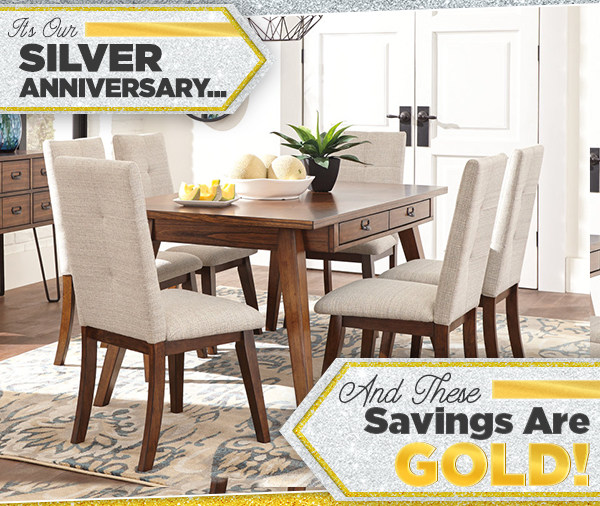 Sofas & More 25th Anniversary Sale - Featured