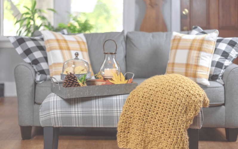 Home Design Trends for Fall and Winter - plaid