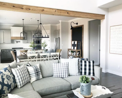 Home Design Trends for Fall and Winter - plaid 2