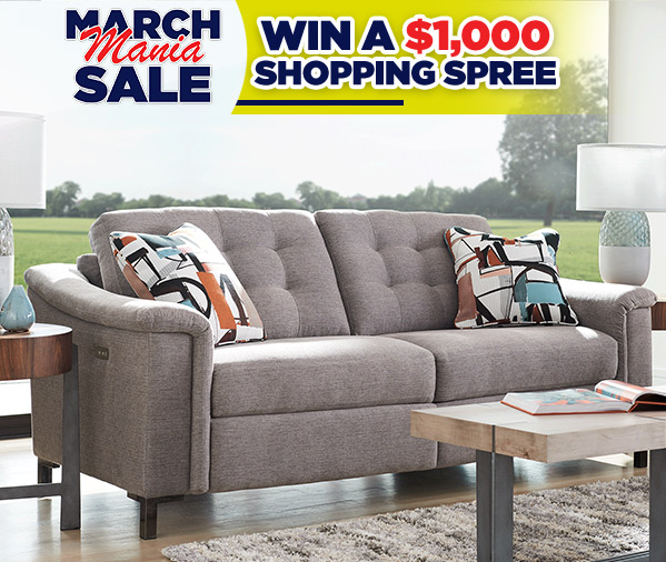 Sofas and More March Mania Sale