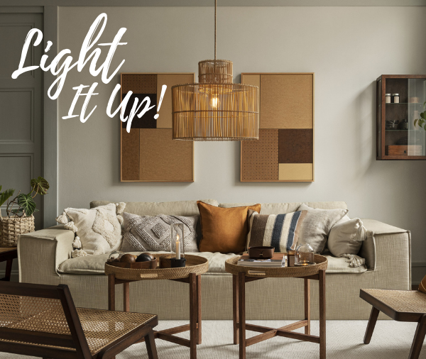 Light It Up! | On-Trend Lighting Options - Featured
