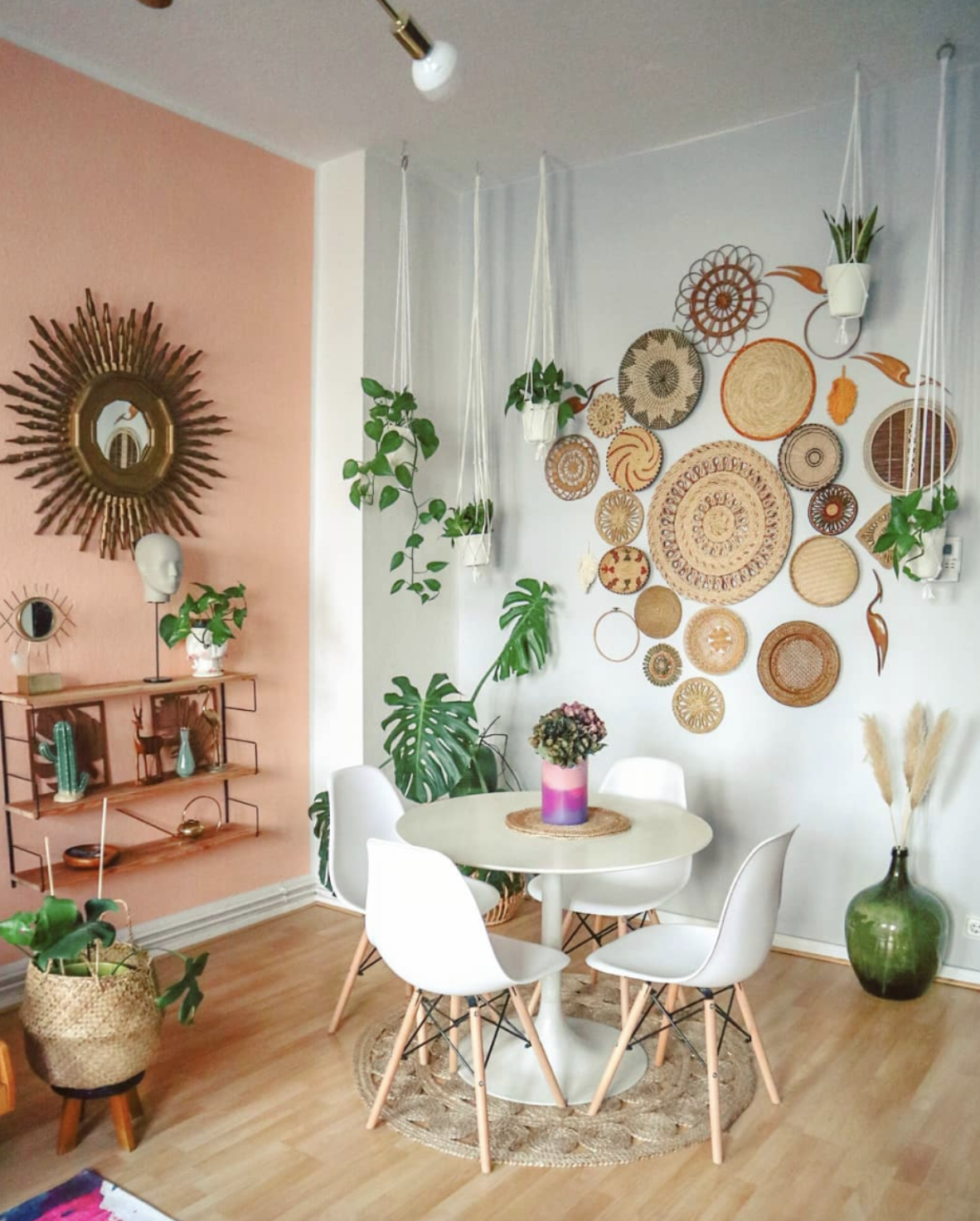 Affordable Home Decor - Basket Wall