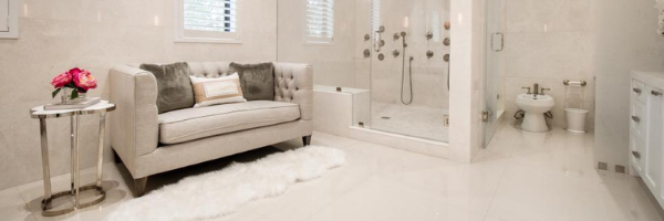 Fall in Love With Loveseats - Bathroom