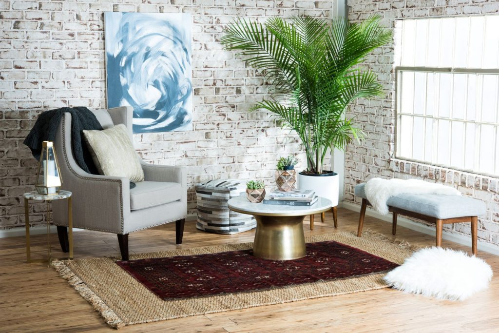 Affordable Home Decor - Layered Rugs 2