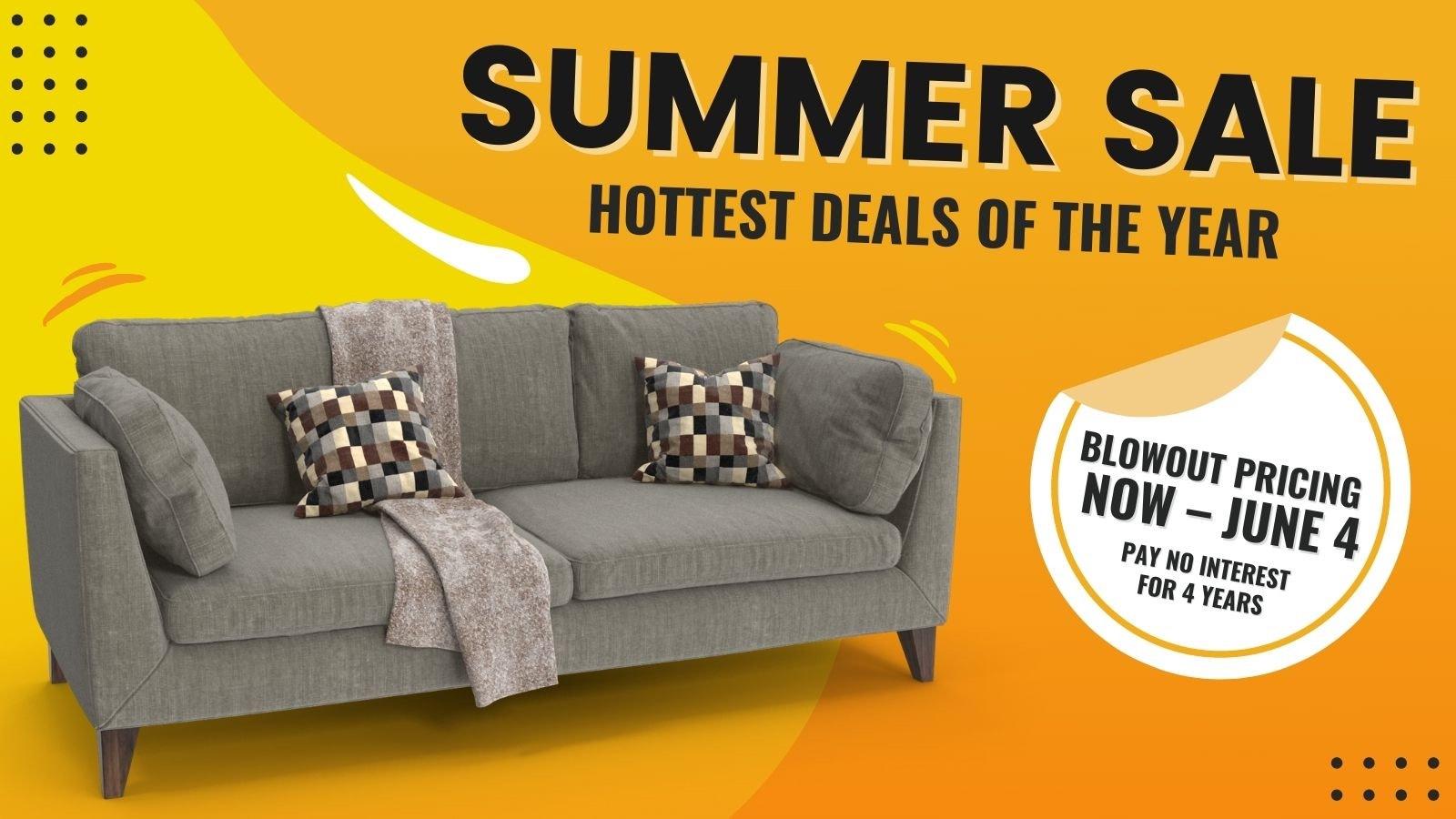 Summer Sizzler Furniture Sale