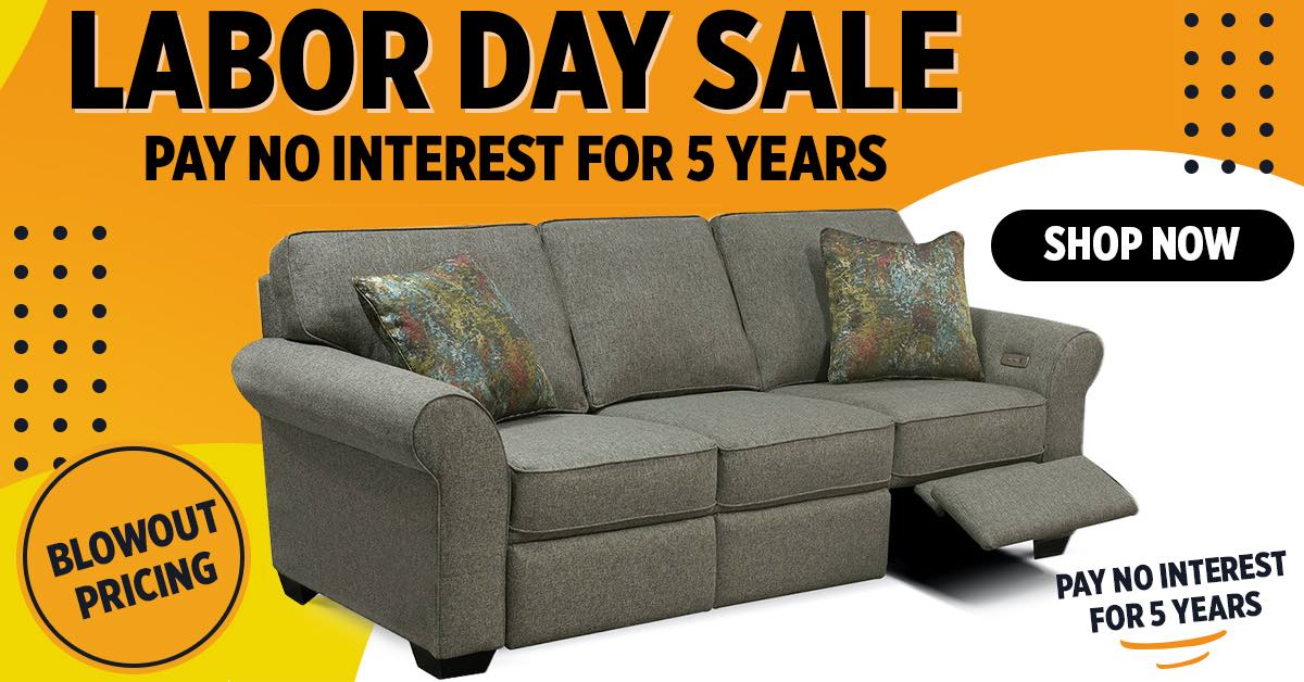 Sofas and More Labor Day Furniture Sale